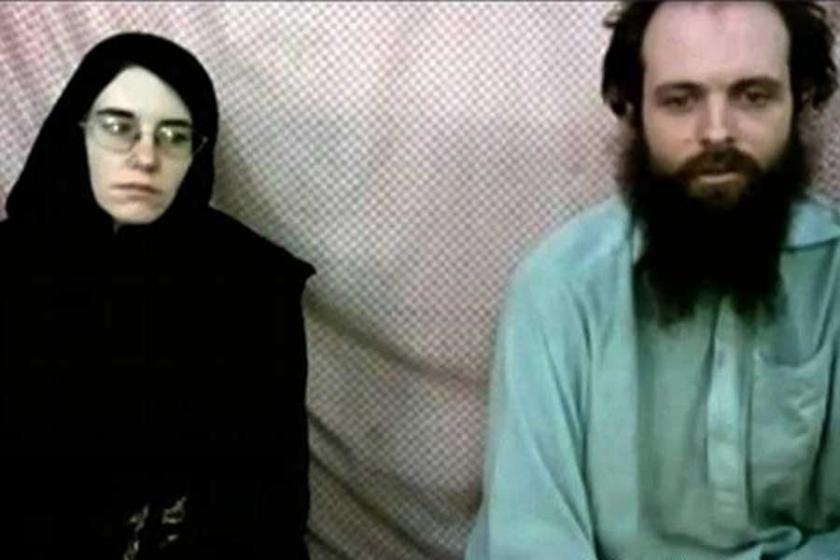 5 yıldır Taliban'ın elinde olan çift kurtarıldı
