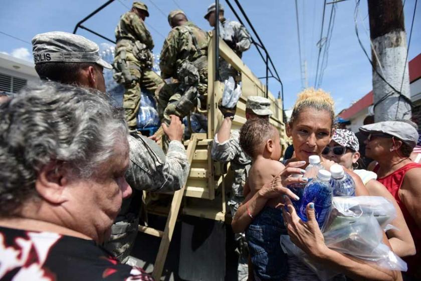 Kasırganın vurduğu Porto Riko'da gıda krizi yaşanıyor