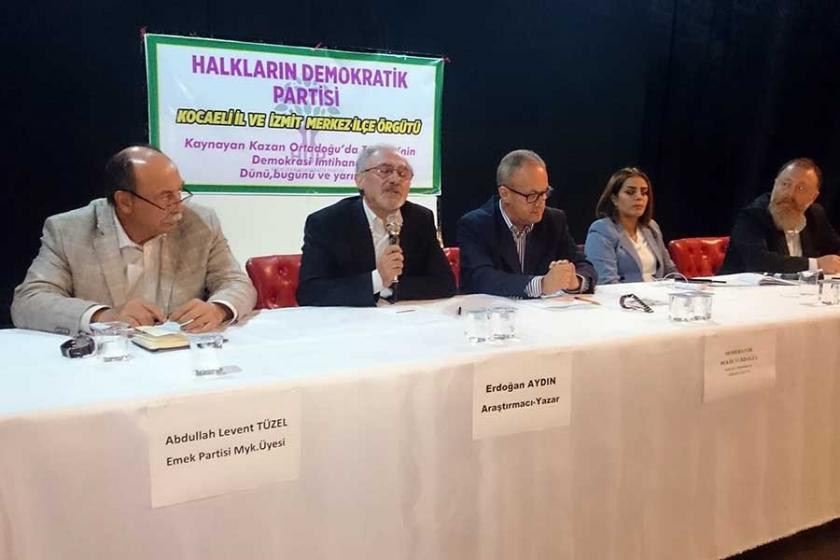 Kocaeli'de HDP'nin etkinliğinde 'birlikte mücadele' çağrısı