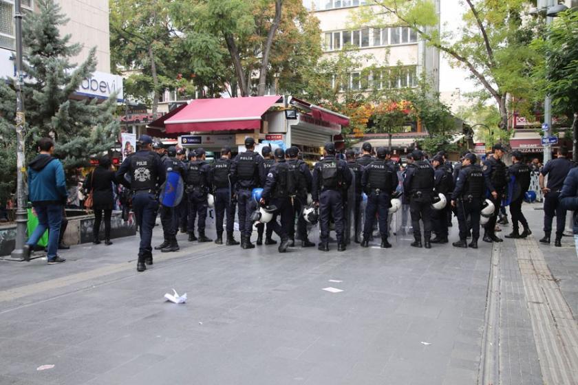 'İşimizi geri istiyoruz' talebine polis çemberi