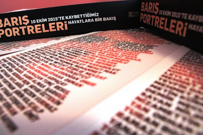 10 Ekim'de yitirilenlerin hikayeleri kitaplaştırıldı