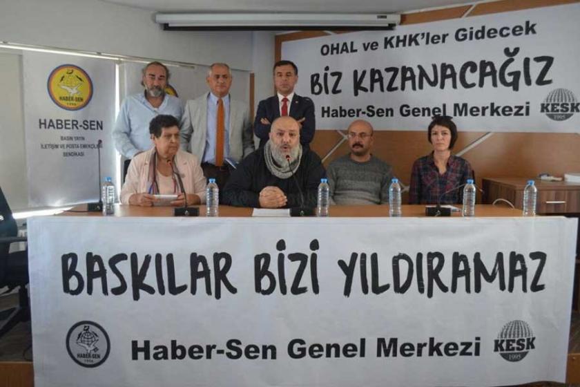 Haber Sen'den TRT'deki soruşturma ve işten atmalara tepki