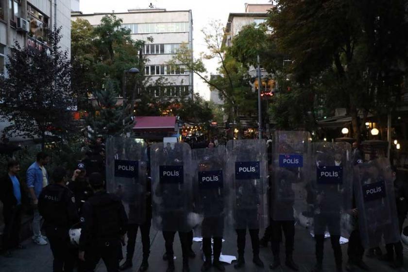 Yüksel eylemine yine polis saldırısı: 2 gözaltı
