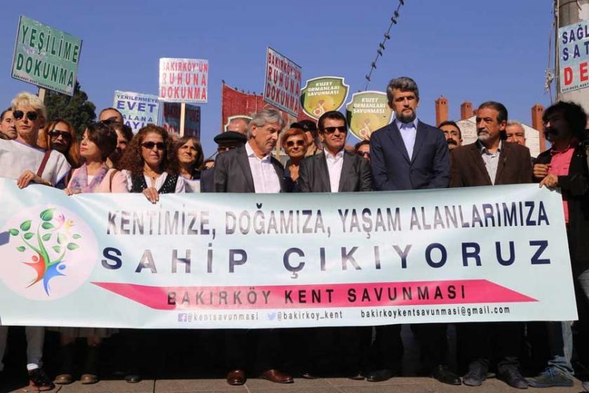 Bakırköylüler imzaları Meclis'e gönderdi