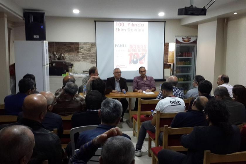 Maltepe'de Ekim Devrimi paneli yapıldı