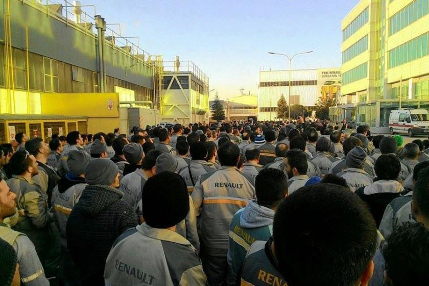 Renault işçileri: İyi bir sözleşme için harekete geçmeliyiz
