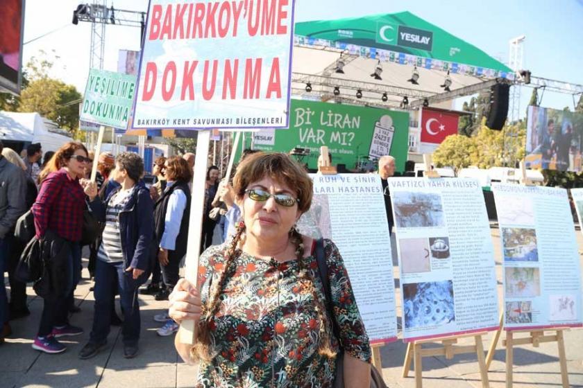 'Bakırköy'deki talana karşı ayağa kalkmalıyız'