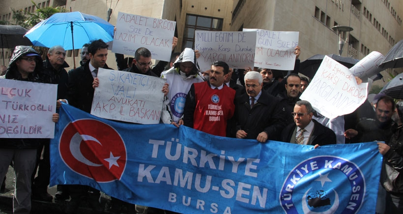 Valinin avukatı AKP il başkanı