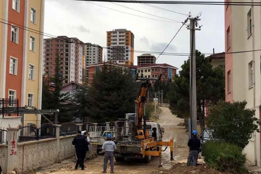 Kastamonu'da vinçten düşen taşeron işçi hayatını kaybetti