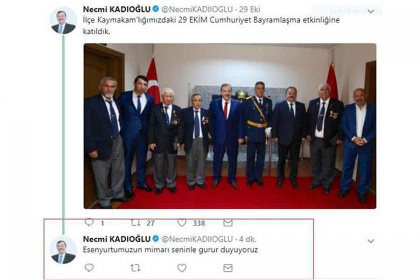 AKP'li Esenyurt Belediye Başkanı fena yakalandı!