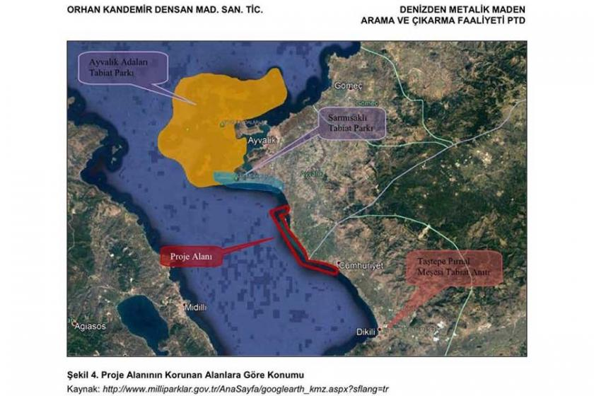 Sıra geldi denize: Altınova'nın denizinde demir madeni