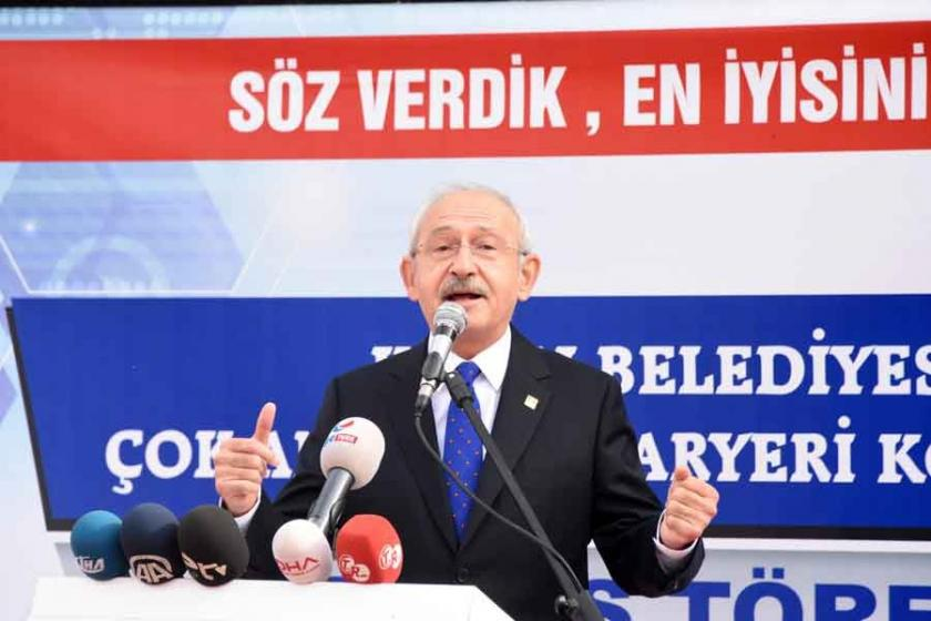 Kılıçdaroğlu'dan Erdoğan'a 'Belediye' resti