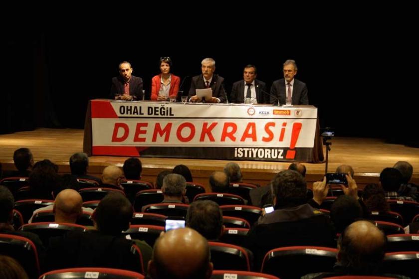 Kampanya: OHAL değil, demokrasi istiyoruz
