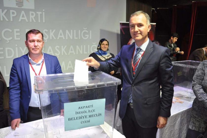 AKP'nin İnegöl Belediye Başkan adayı Alper Taban