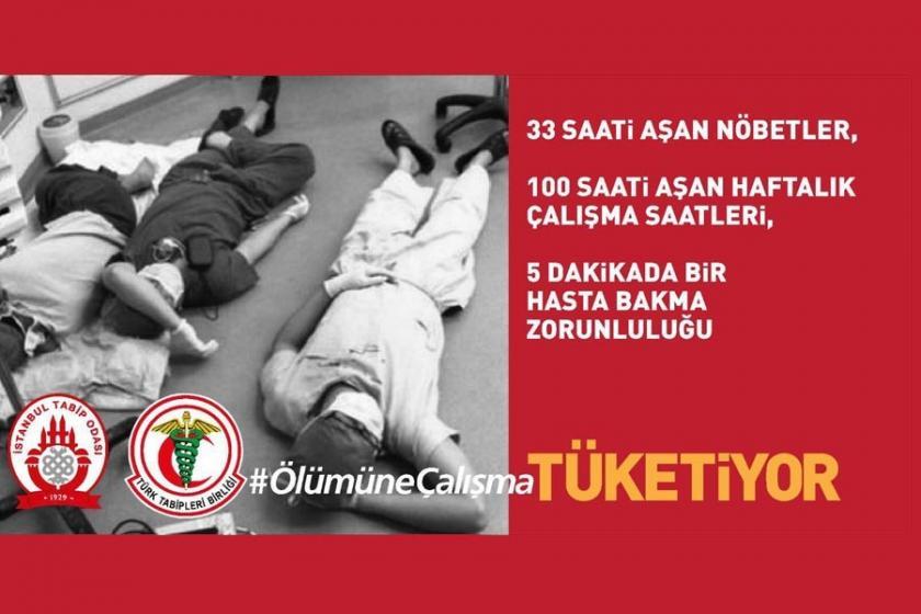 Sağlık emekçilerinden #ÖlümüneÇalışma kampanyası