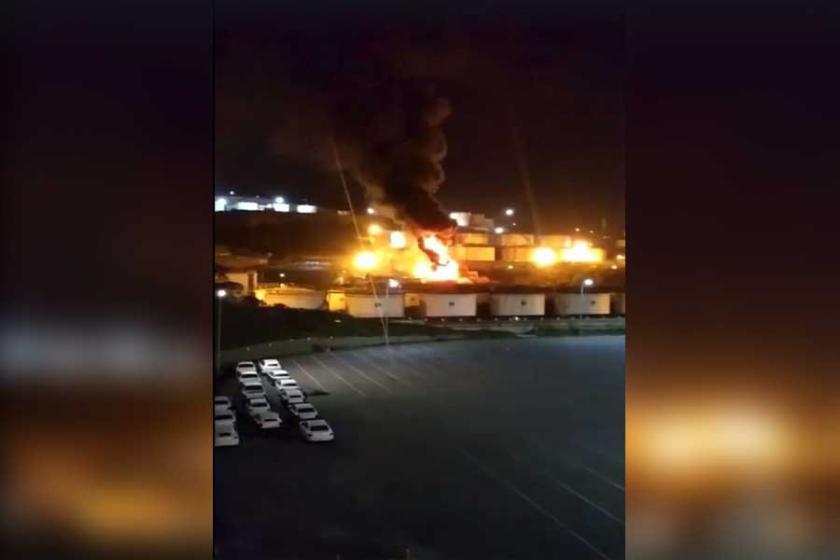 Dilovası Solventaş fabrikasında patlama