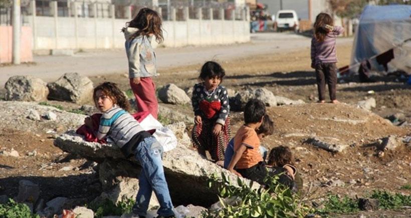 Kaderine terk edilen Suriyeli çocuklarda 'şark çıbanı' belirtisi