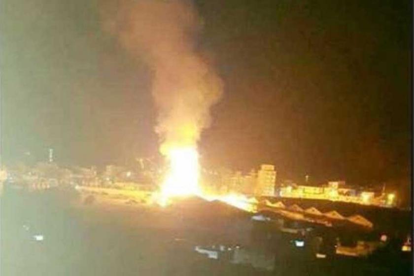 Suudi Arabistan Yemen Savunma Bakanlığını vurdu