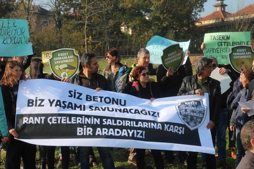 Yaşam savunucularına yönelik saldırı protesto edildi