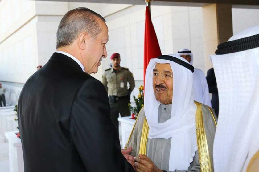 Cumhurbaşkanı Erdoğan Kuveyt Emiri El-Sabah ile görüştü