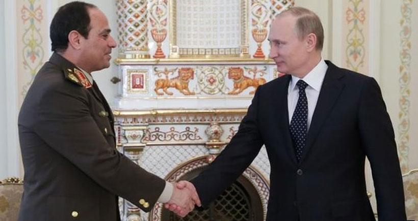 Putin ve Sisi, Suriye için buluşacak