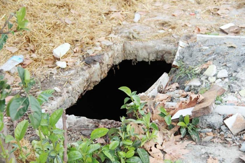 Esenyurt'ta 8 yaşındaki çocuk açık su kuyusuna düştü