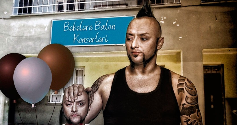 Hayko Cepkin'den 'Bebelere Balon'