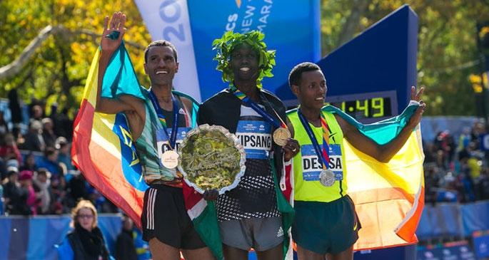 New York Maratonu'nu Kenyalılar kazandı