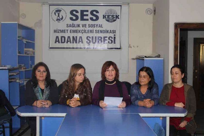 KESK Adana Kadın Meclisi: Kadın düşmanı yasaları geri çekin