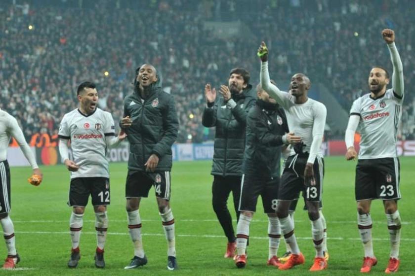 Beşiktaş, Şampiyonlar Ligi Son 16'ya yükselmeyi garantiledi