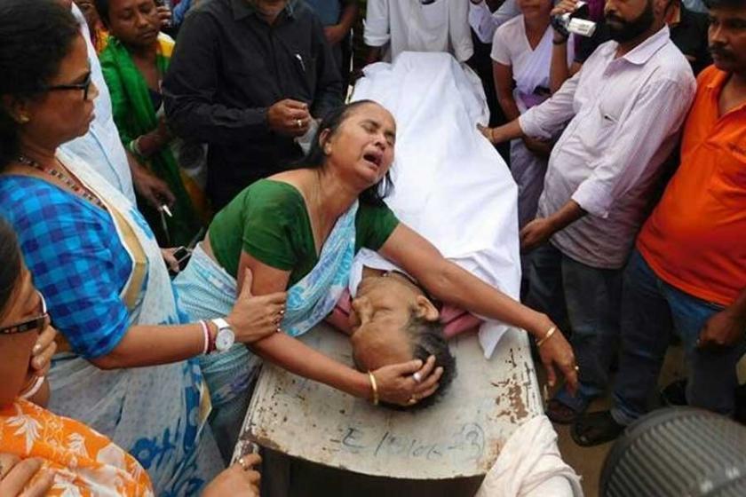 Hindistan'ın Tripura bölgesinde polis bir gazeteciyi öldürdü