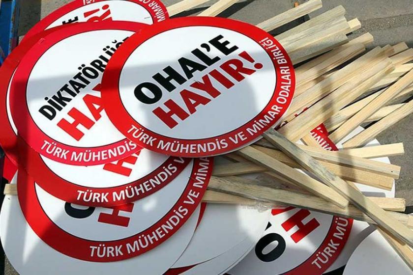 KESK'ten OHAL raporu: AKP ve Saray'ın oksijen tüpü