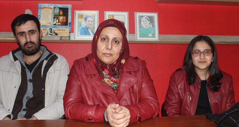 Şehirden çıkması yasaklanan öğrenciye ailesinden destek