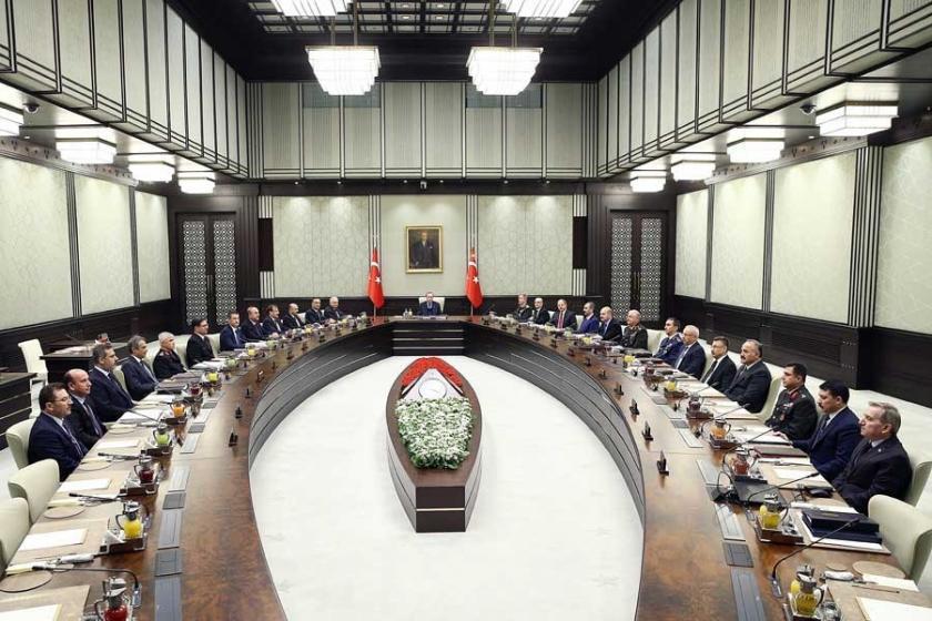 MGK'nin yapısı Cumhurbaşkanlığı Kararnamesiyle yeniden düzenlendi