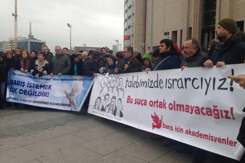 6 barış akademisyeni hakim karşısına çıktı