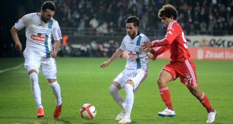 Çaykur Rizespor - Beşiktaş: 0-0