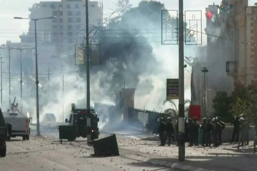 İsrail Batı Şeria'da bir ilkokula baskın düzenledi