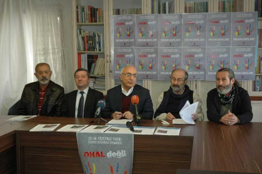 İHD ve TİHV : OHAL'de hak ihlalleri arttı