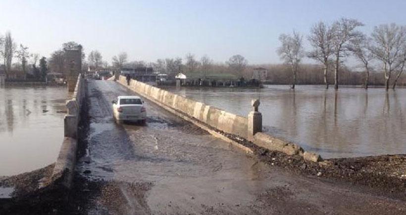 Edirne'de köprüler 4 gün sonra açıldı