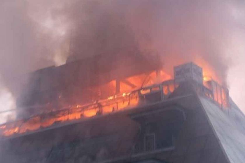 Bağcılar'da tekstil fabrikasında patlama