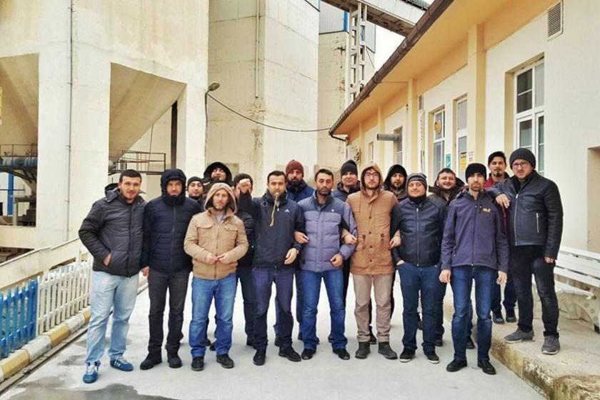 Camiş Madencilik işçilerinden dayanışma çağrısı