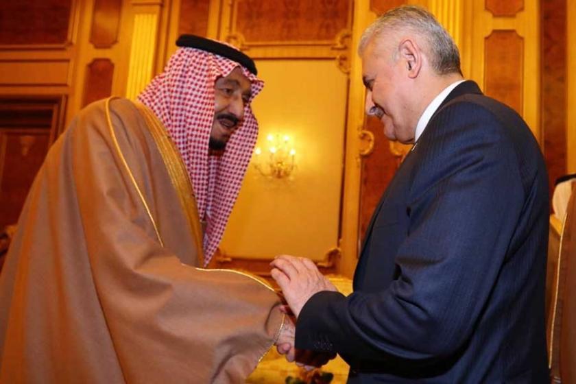 Başbakan Yıldırım, Suudi Arabistan Kralı Selman ile görüştü