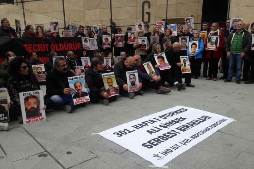 'F Oturması'nda hasta tutuklu Ali Şimşek'e özgürlük istendi