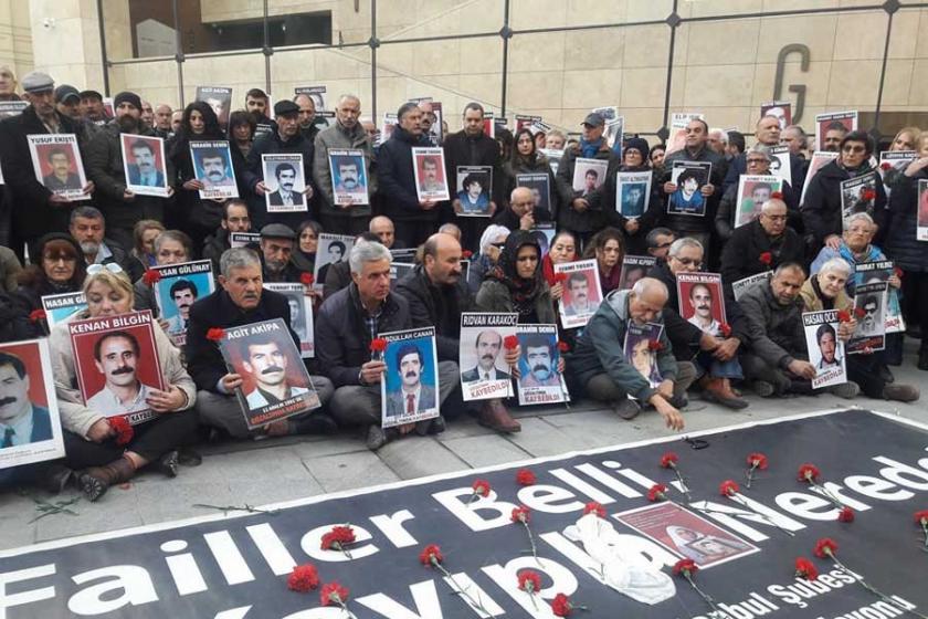 Kayıp yakınları: Adaletsiz, hukuksuz bir yıl daha geçti