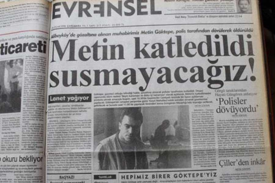 Euro court fines Turkey 5,000 euros for closing Evrensel in 2001