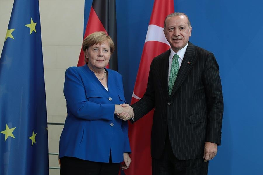 What were the negotiations with the German monopolies and Erdoğan's government?