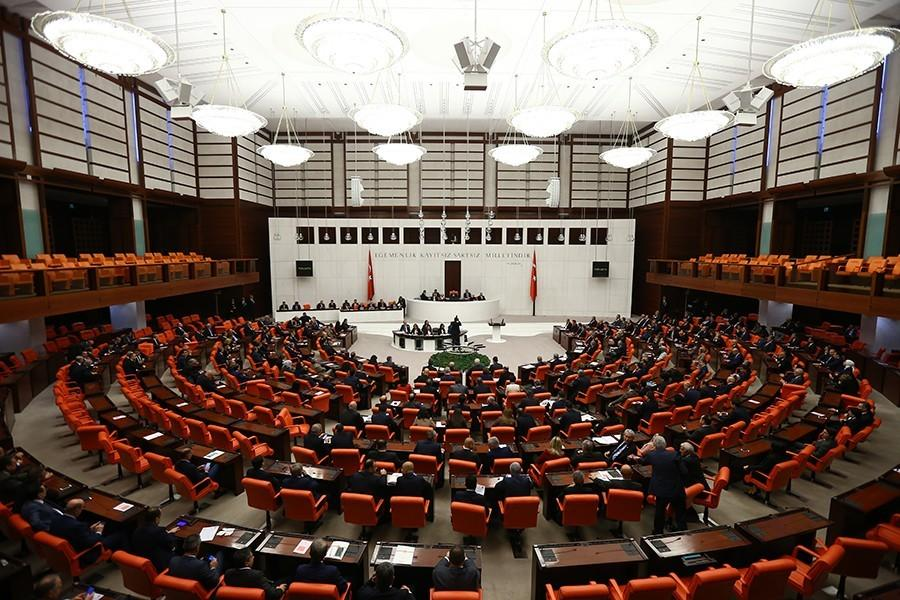 General view of the Turkish Parliament