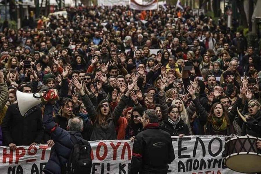 Third teacher strike in Greece: We want the bill to be withdrawn