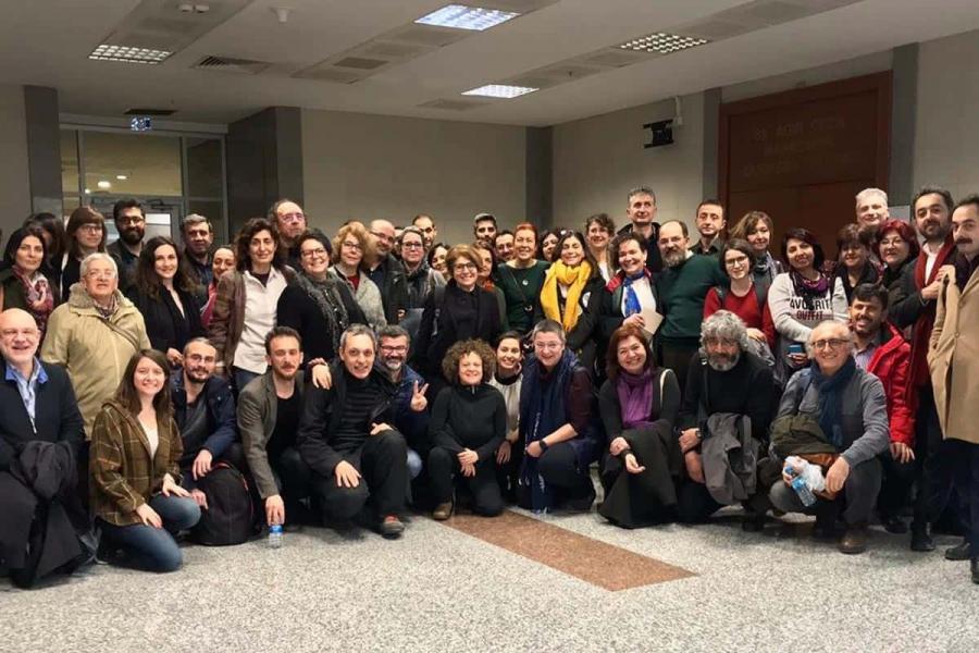 Jail sentences for 27 academics for peace