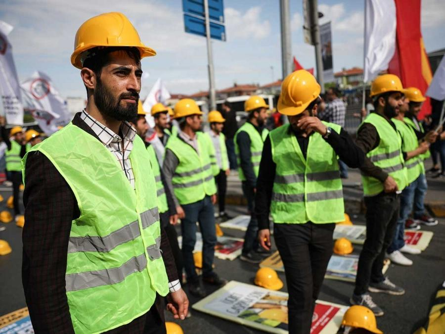 Unionisation rate and workers' movement in Turkey, with facts and figures
